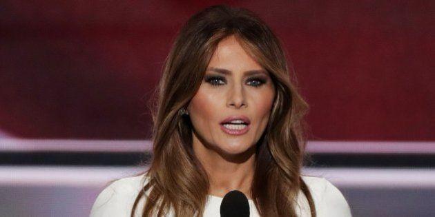 Melania Trump, la exmodelo eslovena que busca ser una primera dama