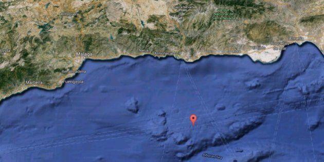 Se registra un terremoto de magnitud 3,9 cerca de las costas de Granada y