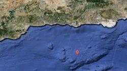 Se registra un terremoto de magnitud 3,9 en el mar de