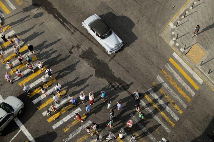 Un fotógrafo cubanoestadounidense muestra lo que supuso cubrir la visita de
