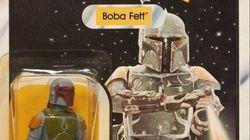 Una figura del personaje de 'Star Wars' Boba Fett se vende por 31.000