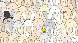 ¿Puedes encontrar el huevo de Pascua entre todos estos