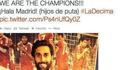 Arbeloa celebra la 'Décima' en Twitter:
