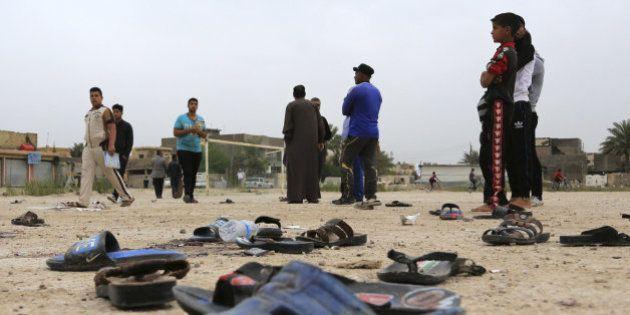 Al menos 30 muertos en el ataque a un campo de fútbol en