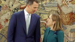 Ana Pastor traslada a Felipe VI la nueva composición del
