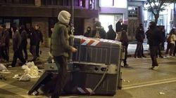 Segunda noche de disturbios en el barrio burgalés de