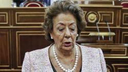 Rita Barberá recibe un sobre con una bala dentro, el segundo en año y