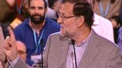 Esto es lo que contesta Rajoy cuando le gritan:
