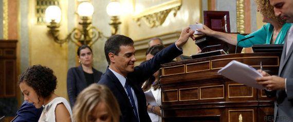 El PSOE descarga la presión sobre los nacionalistas para la