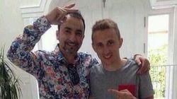El de la derecha es Modric, aunque con ese pelo no lo