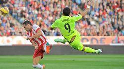 Los dos pases de gol de Luis Suárez frente al Almería