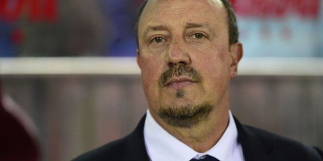 Benítez sugiere a Benzema que meta más goles