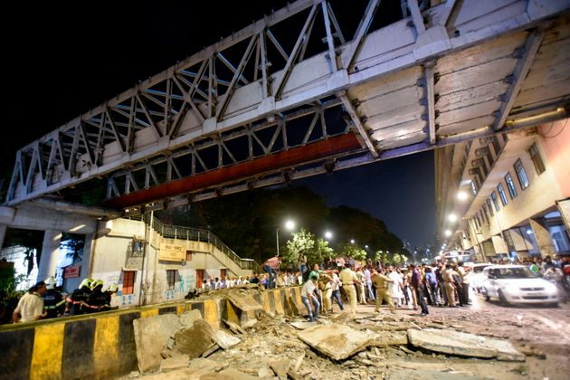 Foot Overbridge That Collapsed In Mumbai Was Under