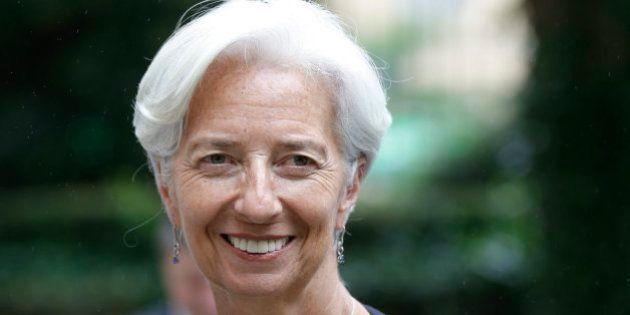 Christine Lagarde, otros cinco años al frente del