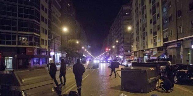 En libertad los cinco detenidos en la tercera noche de disturbios en