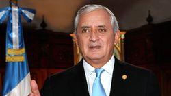 Dimite el presidente de Guatemala, acusado de