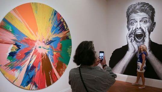 Londres exhibe la colección de arte privada de David