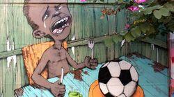 Conoce la historia que hay tras el grafiti viral de Brasil 2014
