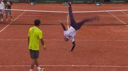 Sorpresa en el Roland Garros: el baile de Gaël Monfils y Laurent Lokoli (VÍDEO,