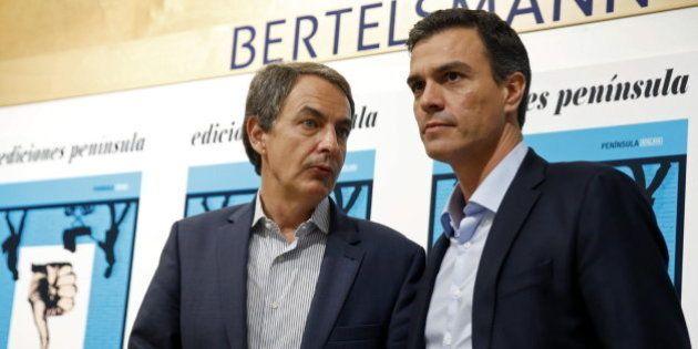 Los piropos entre Zapatero y Pedro
