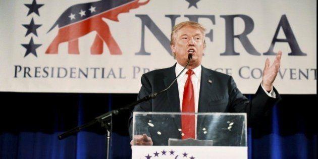 Donald Trump la vuelve a liar al pedir a Jeb Bush que no hable en