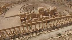 Palmira a vista de dron: así ha quedado tras el paso del