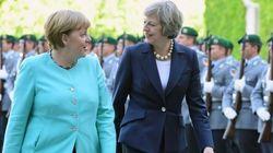 Merkel, a May:
