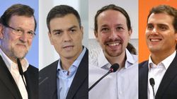 Suben PSOE y Ciudadanos, bajan PP y