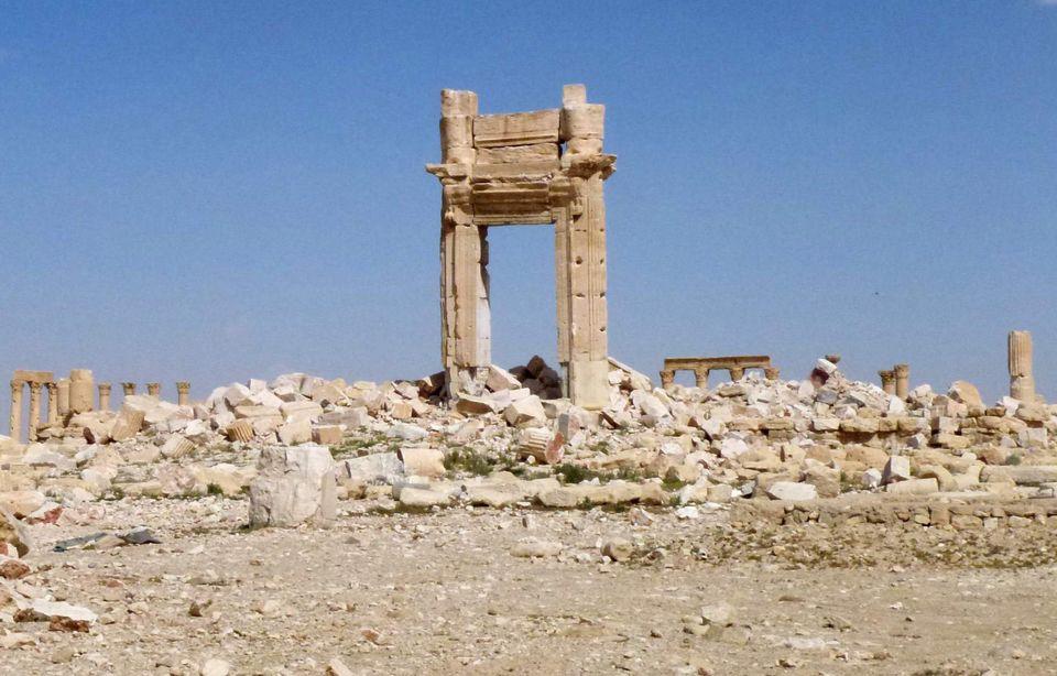 La destrucción del ISIS en Palmira: fotos antes y
