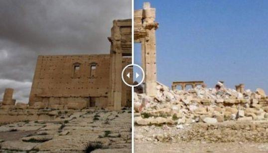 Palmira en fotos antes y
