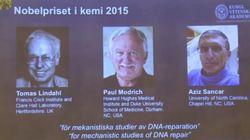 Tomas Lindahl, Paul Modrich y Aziz Sancar, Premio Nobel de Química 2015 por el estudio de la reparación del