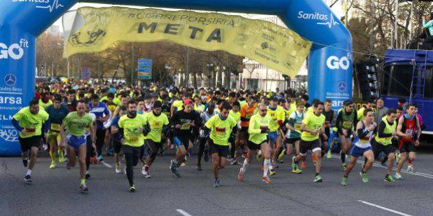 Más de 3.000 corredores participan en una carrera solidaria con Siria en