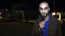 En libertad el periodista que fue identificado como 'el hombre del