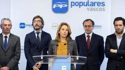 El PP vasco retira la moción sobre convivencia que incluía a