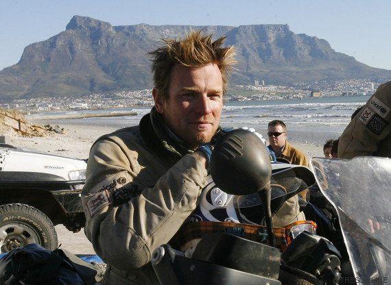 El gran papel de Ewan McGregor: recorrer el mundo en moto con fines