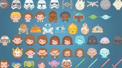 Los 'emoji' de 'Star wars' ya están