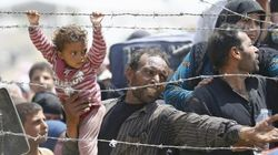 Mueren tres niños sirios en un incendio en un campo de refugiados en