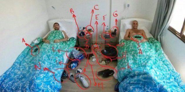 Manu Ginóbili denuncia con esta foto robos y suciedad en la villa