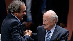 La FIFA suspende a Blatter y Platini durante 90
