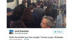 Los pasajeros afectados por el corte del AVE en Catalunya relatan el