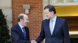 Esto dice Rajoy sobre Rubalcaba... ahora que se