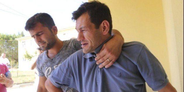 Aylan Kurdi, su hermano y su madre, enterrados en