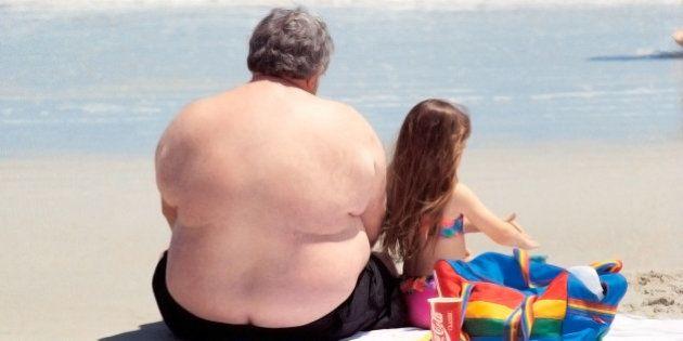La obesidad del abuelo afecta a la salud de sus