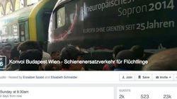 Organizan en Facebook un convoy para llevar refugiados de Hungría a