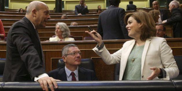 Sáenz de Santamaría al PSOE: