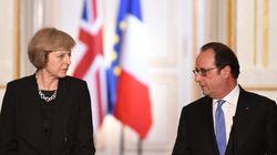 Hollande da tiempo a May para el Brexit pero insta a que sea cuanto