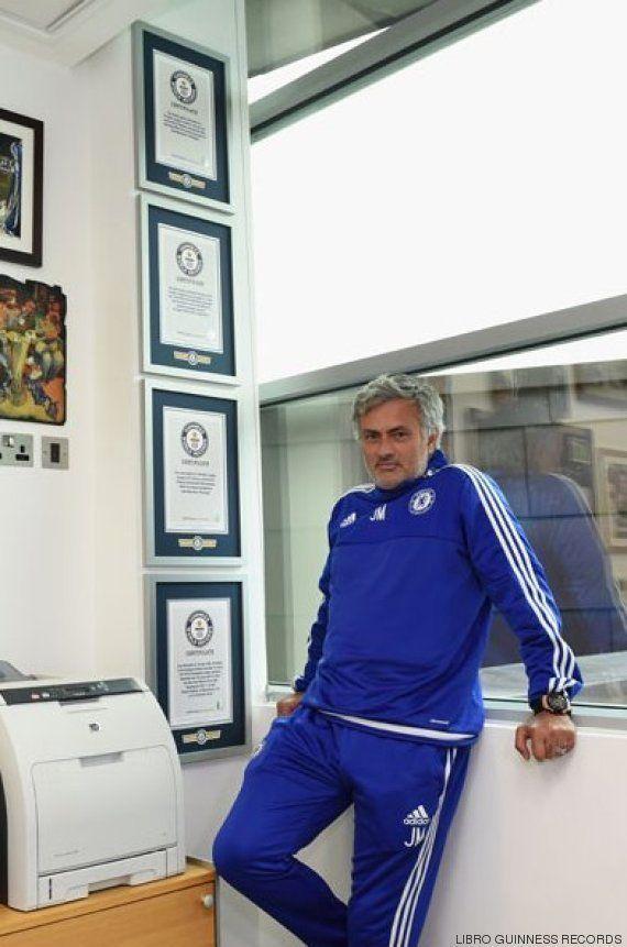 Mourinho entra en el libro Guinness de los Récords... ¡cinco