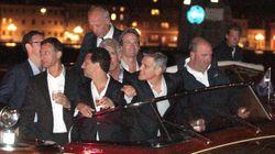 Así fue la despedida de soltero de George Clooney en Venecia