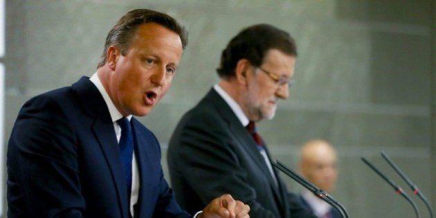 Cameron advierte a Cataluña: la independencia implica salir de la