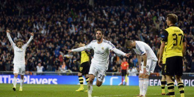 Real Madrid - Borussia de Dortmund (3-0): Paseo blanco hacia